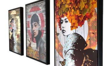'URBAN GEISHA' Limited Edition Canvases now available